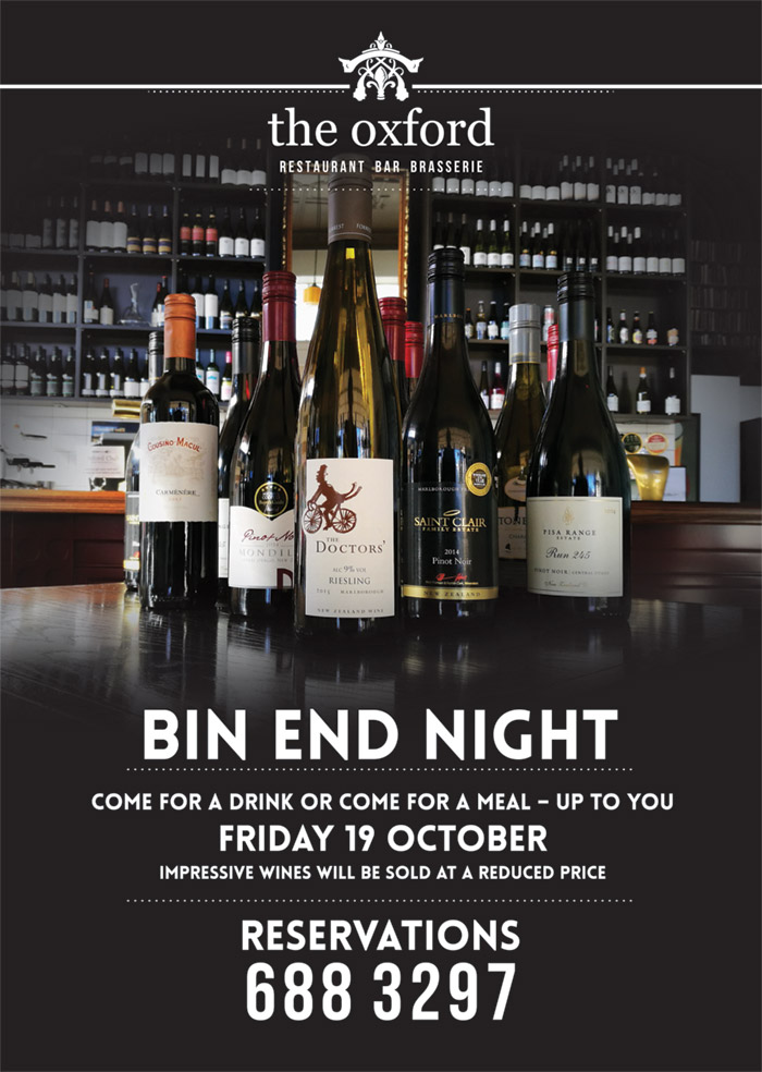 Bin End Night 2018