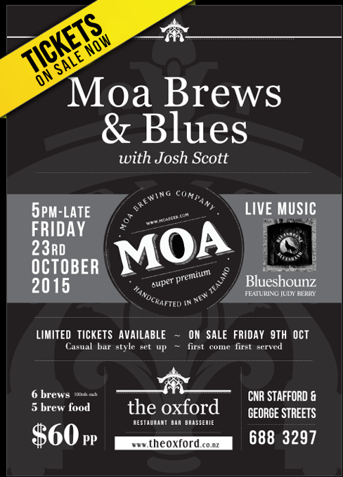 Moa Brews & Blues 2015