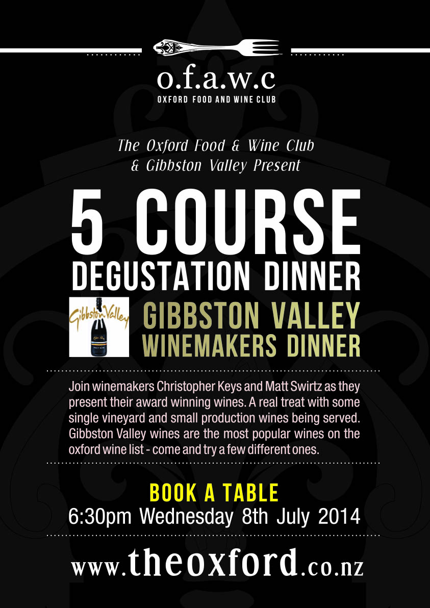 Gibbston Valley Single Vineyard Selection