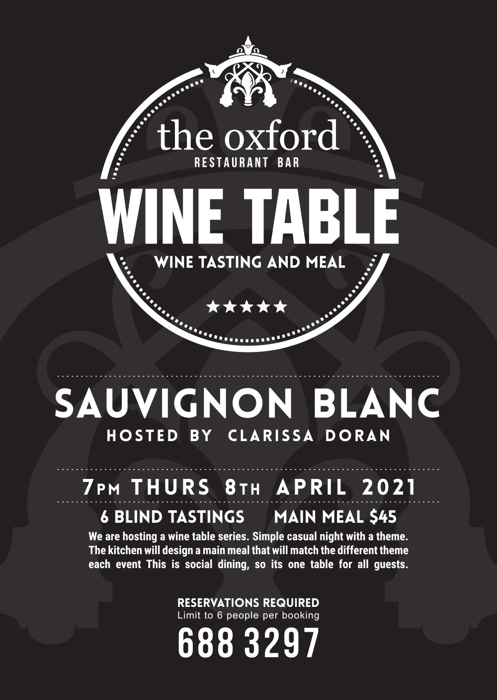 Sauvignon Blanc Blind Tasting Wine Night 2021