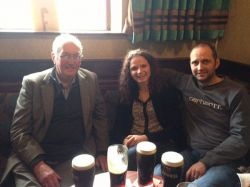 June 2014 - Europe Trip - Might have stopped for a Guinness or two with John along the way. Good for your health apparently!